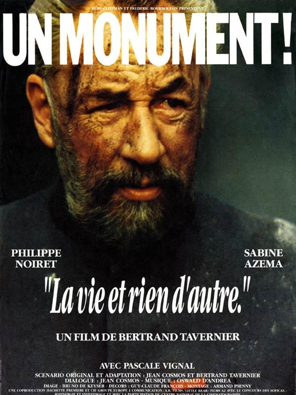 La Vie et rien d'autre de Bertrand Tavernier (1988)