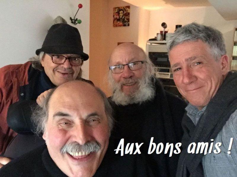 Bernard Lubat, Marc Perrone, Jacques Di Donato, Patrick Sigwalt.