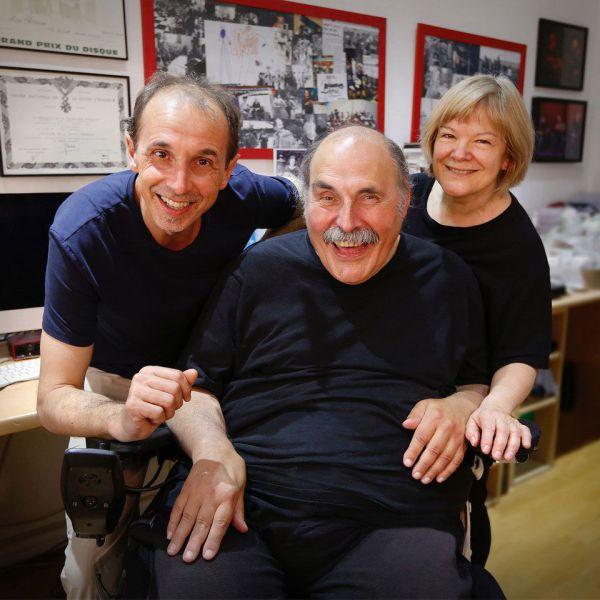 Gilles Apap, Marc Perrone et Marie-Odile Chantran
